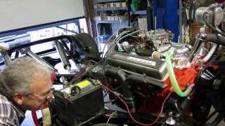 327 startup q corvette 001