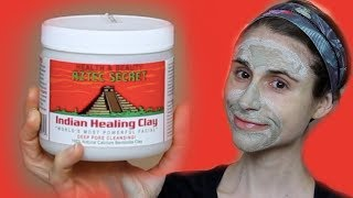 AZTEC SECRET HEALING CLAY MASK REVIEW| DR DRAY