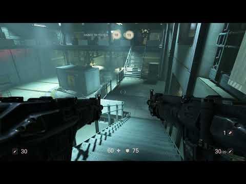 Wolfenstein ll: Gunslinger Joe - Captured: Enter Storage: Can Throw & Unnecessary Roughness