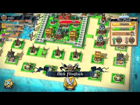 Plunder Pirates How to Get To Pirate Rank 500 Easy and Fast Pt 2