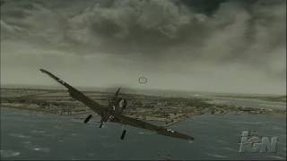 Blazing Angels: Squadrons of WWII Xbox 360 Gameplay - Kill