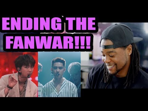End The FanWar    BTS & EXO - AIRPLANE PT. 2 X THE EVE (MASHUP)   Try Not To Get Triggered REACTION
