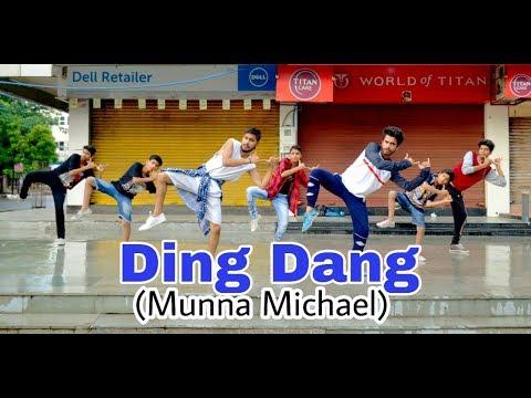 Ding Dang - Video Song | Munna Michael 2017 | Tiger Shroff & Nidhhi Agerwal | Javed - Mohsin