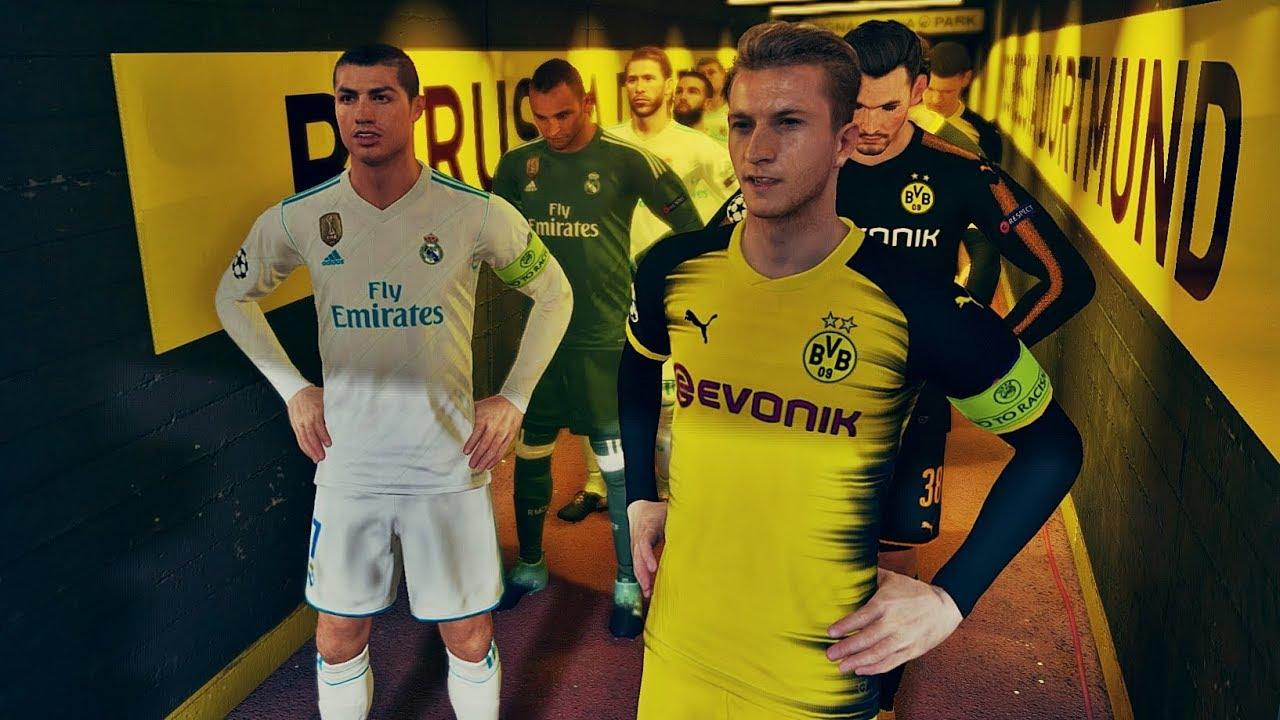 real madrid vs dortmund 2019