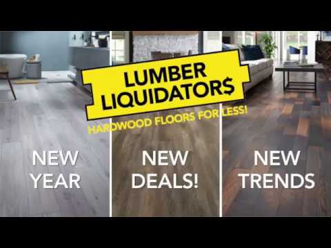 Lumber Liquidators TV Commercial, 'The New Year's Makeover Look'  Save $500