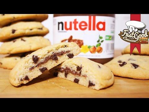 recette-simple-et-rapide-:-cookies-fourré-au-nutella