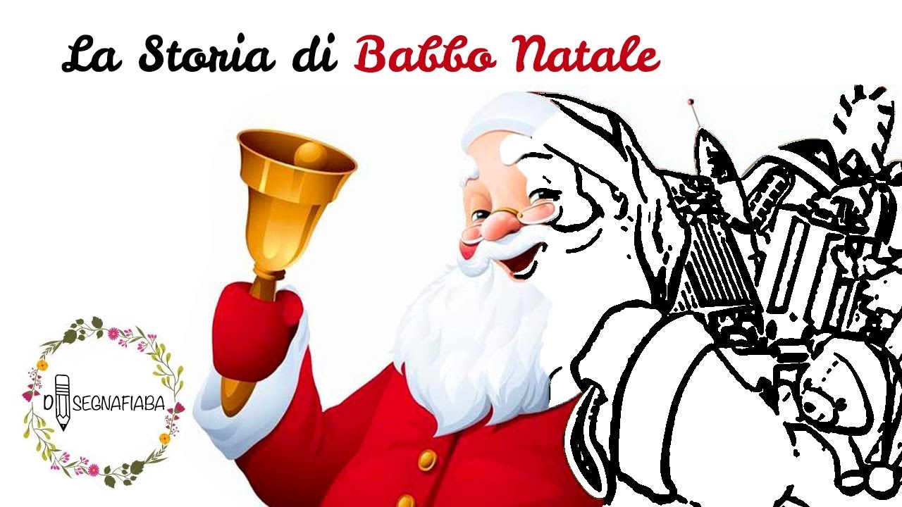 Storia Di Babbo Natale.La Storia Di Babbo Natale Racconti E Favole Per Bambini Youtube