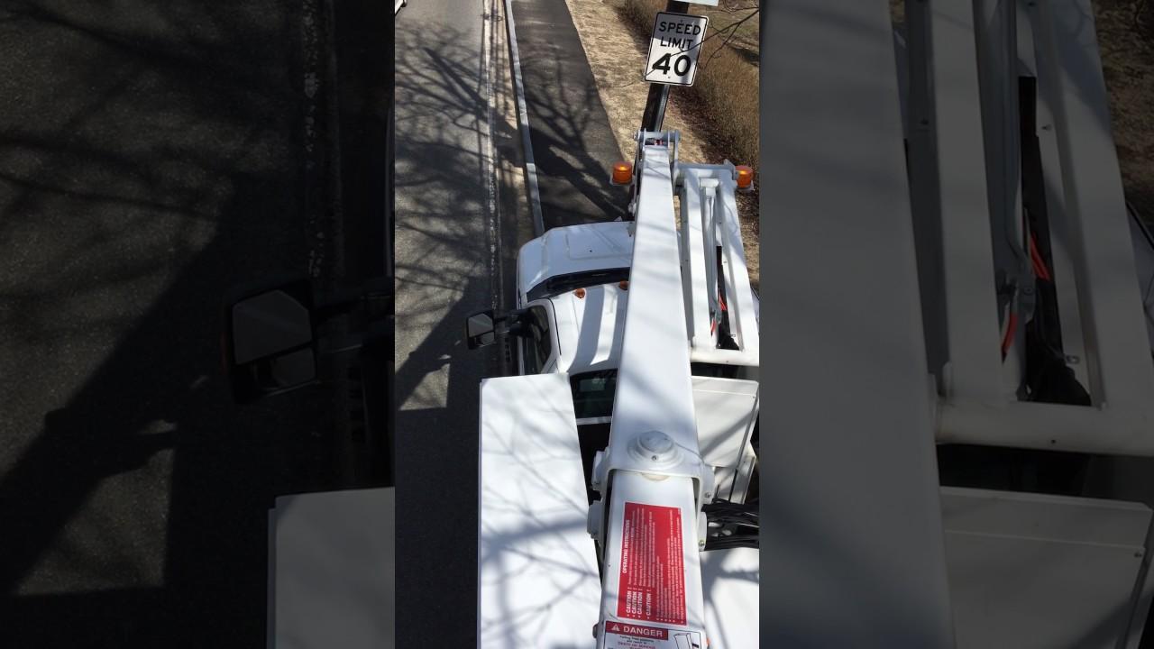 hight resolution of bucket truck problem