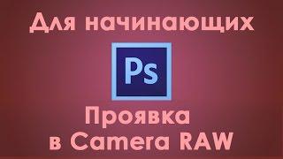 5 урок, полная обработка фотографии в photoshop и проявкой в camera raw
