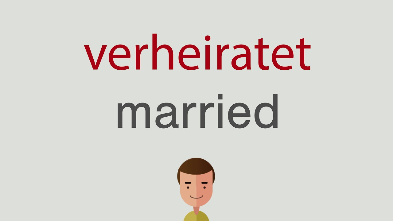 Verheiratet Englisch