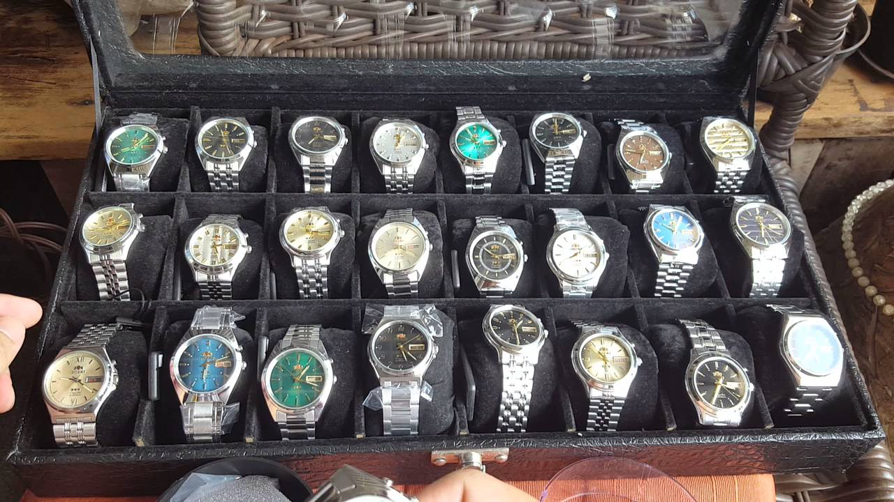 dd0c1bf689c Relógio orient 25 modelos automáticos escolha já - YouTube