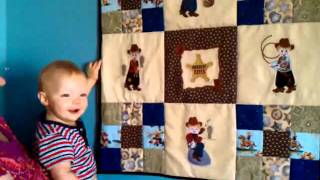 Effie And His Cowboy Quilt