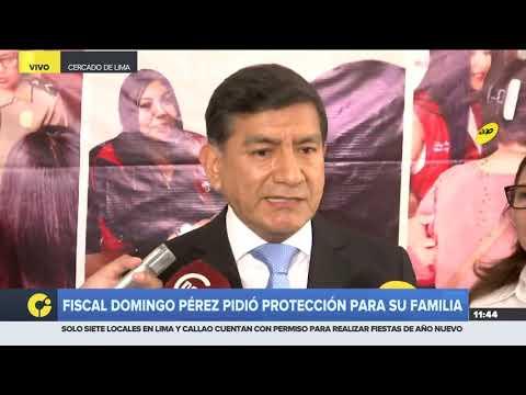 """Ministro del Interior afirma que la seguridad para fiscal José Domingo Pérez """"está garantizada"""""""