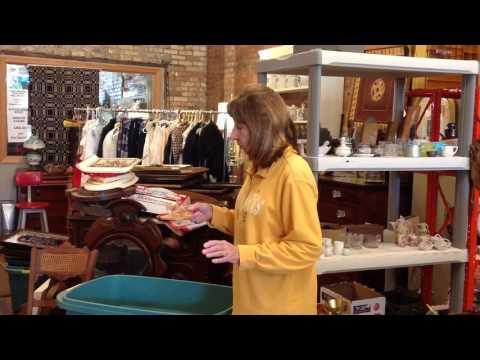 Unpacking at the Gallery, Wonder Women Estate Sales