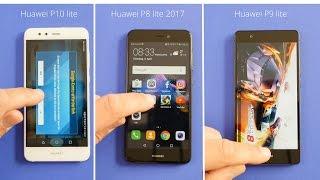 Benchmark: Huawei P10 lite vs. Huawei P8 lite 2017 vs. Huawei P9 lite - Performance Test