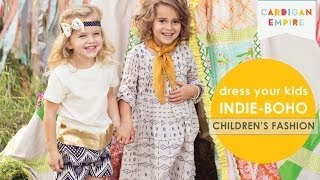 How to Dress Your Kids Indie-Boho Thumbnail