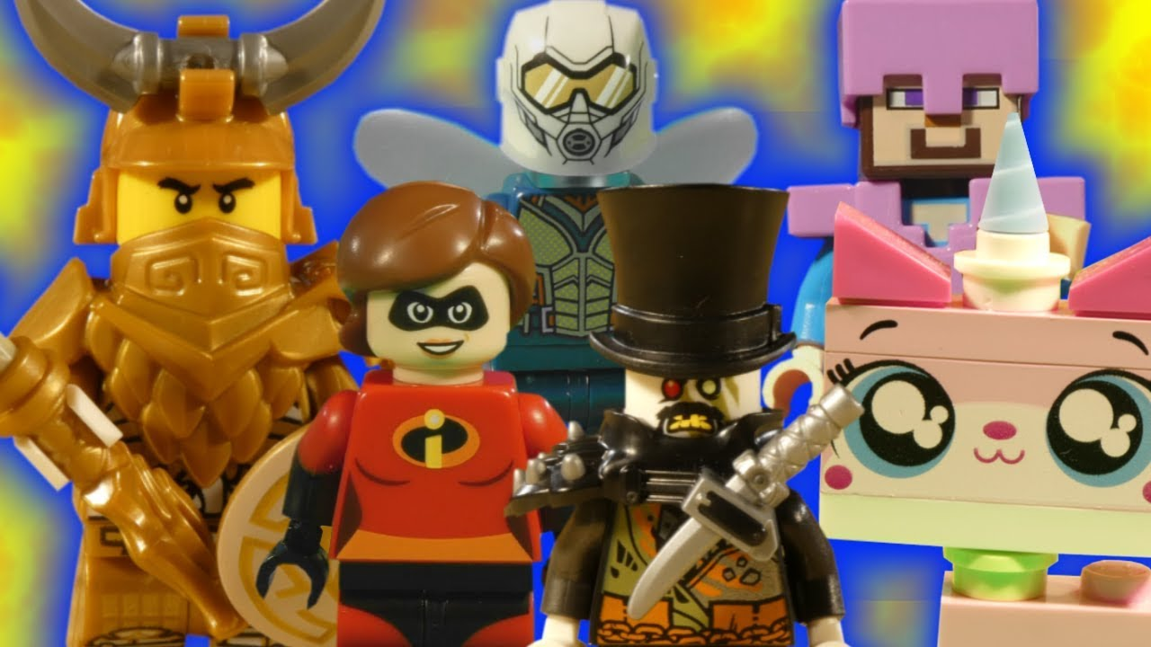LEGO ULTRA MIX COMPILATION - LEGO NINJAGO HUNTED - ANT-MAN AND THE WASP - UNIKITTY - INCREDIBLES
