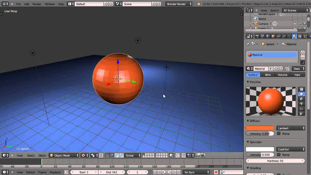 blender how to create a new object