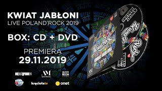 Kwiat Jabłoni z #polandrock2019 BOX:CD i DVD