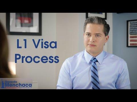 L1 Visa Application Process, USA 2020