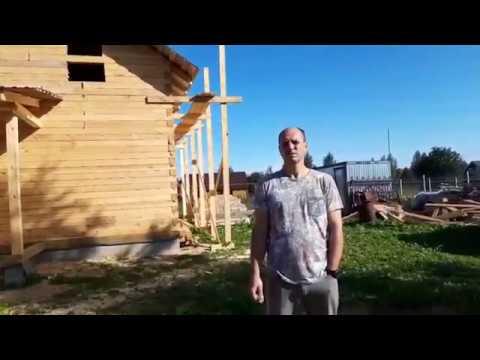 Отзыв о деревянном доме из бруса под усадку из Костромы - ЭкоХат
