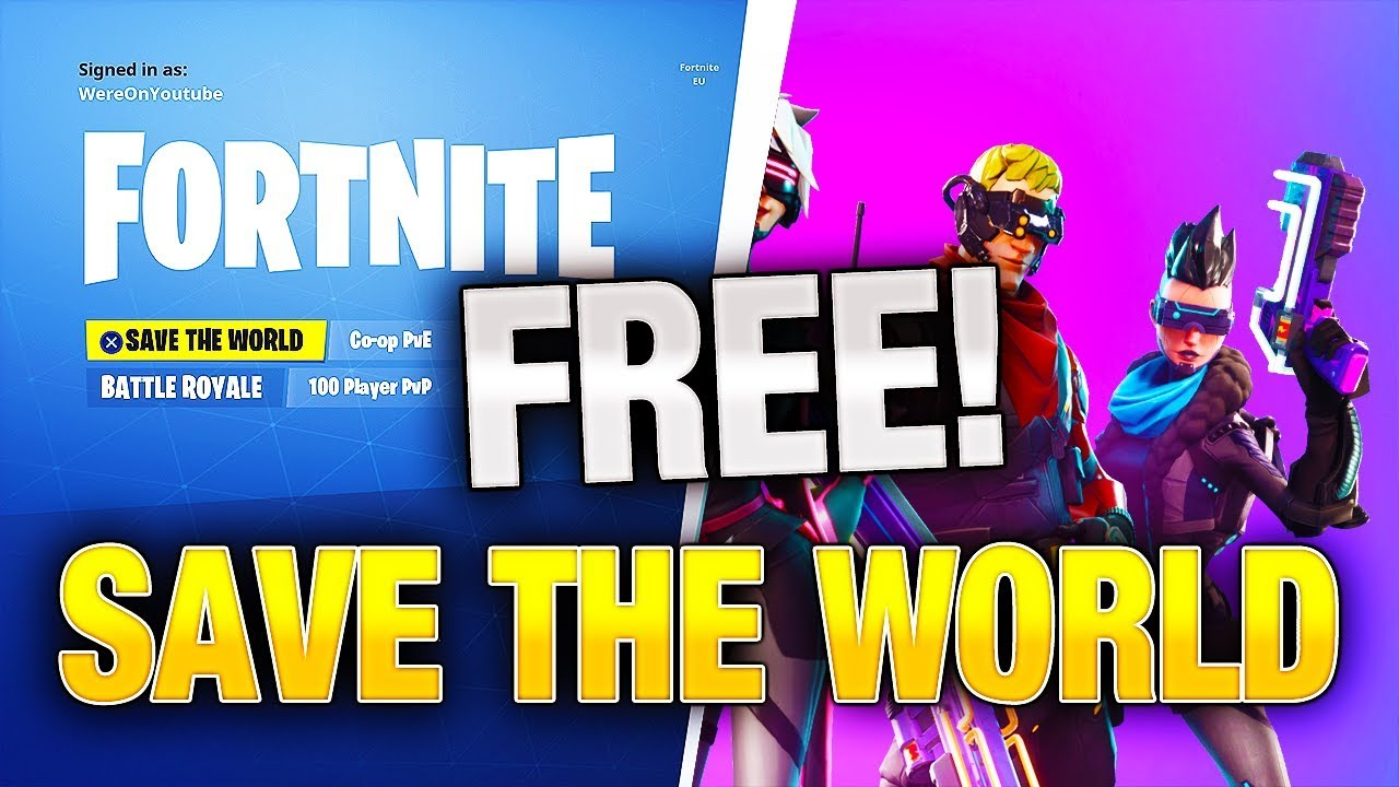 How To Get Fortnite SAVE THE WORLD For Free! *WORKING 2018* | (PC, PS4, XBOX)