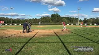 2018-10-13 Stars Baseball (Natale) 6th Inning Batting vs Fauquier Freeze