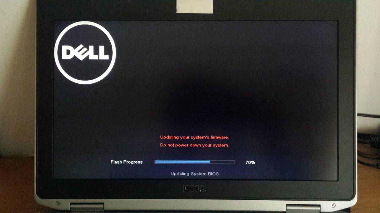 Update Bios A18 Dell E