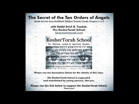 The Secret of the Ten Orders of Angels