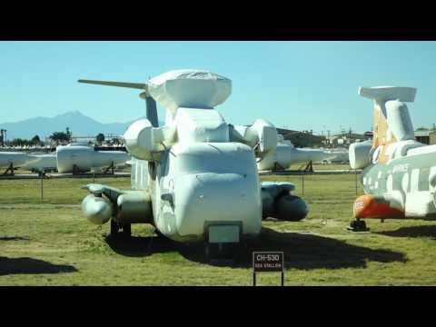 The Davis Monthan - Aircraft Boneyard