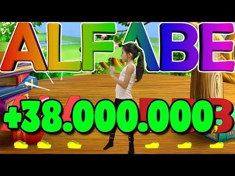 Alfabe Şarkısı Türkçe (Alfabe Tekerlemesi) - 3 Kere aaa 3 Kere bbb - Adasu TV