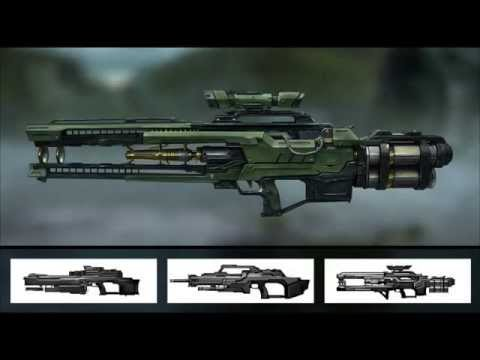 Tutorial Now Available: Designing First Person Shooter Gun Concepts In Maya And Photoshop