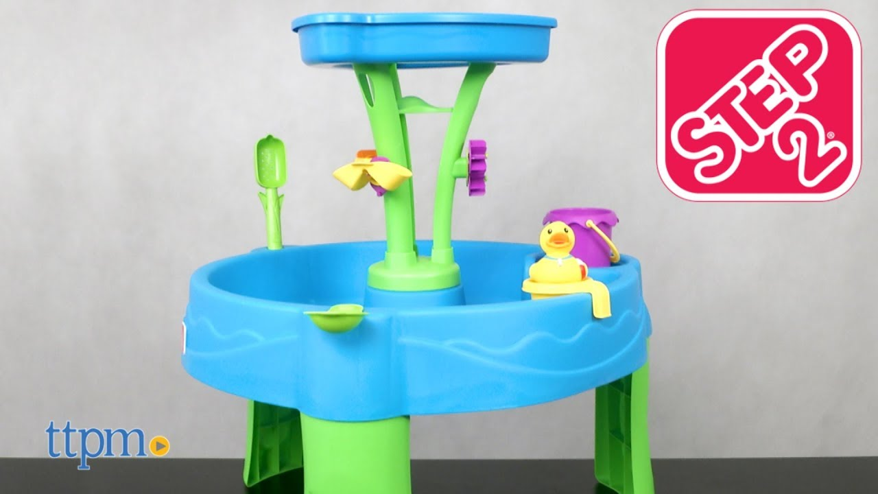 Summer Showers Splash Tower Water Table From Step2