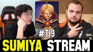 SUMIYA is IMPRESSED by NOONE's Invoker | Sumiya Invoker Stream Moment #922