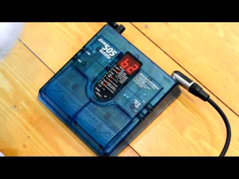 zoom 505 guitar effects pedal youtube. Black Bedroom Furniture Sets. Home Design Ideas