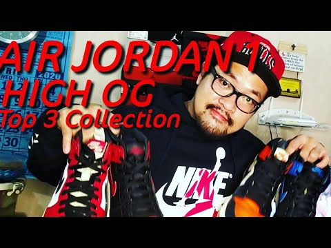 AIR JORDAN 1 HIGH OG COLLECTION ON FEET REVIEW/TOP AIR JORDAN 1 COLORWAY OF ALL TIME/THE LAST DANCE