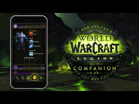 World of Warcraft: Legion Companion App