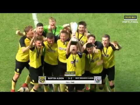 Live football: crystal palace v reading fc, nfyl league final