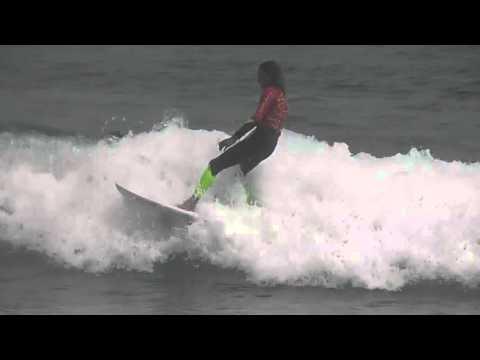 Lion Rock Boardriders Club Training At Piha Beach 28 January 2016