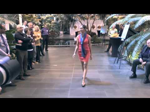 2015 Scarves Fashion Show By Jean Michel