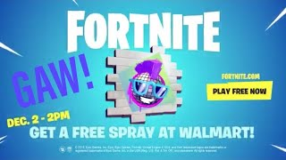 Walmart BOOGIE SPRAY GIVEAWAY!!! (Fortnite Battle Royal) 100 winners!