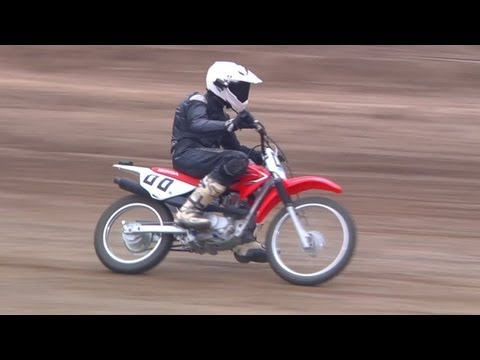 My First Flat Track Race - /RideApart