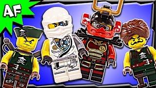 Lego Ninjago Minifigures & Accessory Set Review 853544