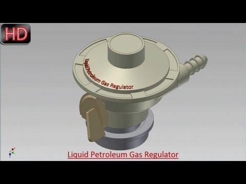 Liquid Petroleum Gas Regulator (Video Tutorial) Autodesk Inventor