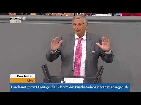 Wolfgang Bosbach verabschiedet sich aus dem Bundestag am 01.06.17