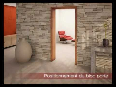 Porte r novation chambranle paul ceyrac e couliss youtube - Comment cacher un placard sans porte ...