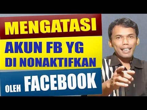 Cara Atasi Akun FB Yang Dinonaktifkan - Gampang!!!.