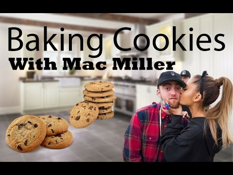 Baking Cookies With My Boyfriend Mac Miller! | Ariana Grande Snapchat Vlog