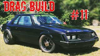 2 Valve Swap Drag Build (Part 11) & How to Install 79-04 Mustang Rear Coil Over