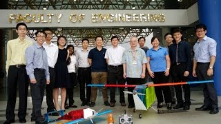 2016 aiaa dbf team from national university of singapore nus